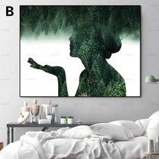 landscapecanvasprint, Decor, hangingpainting, Wall Art