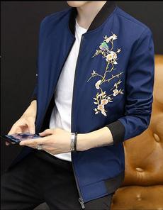 Jacket, Flowers, Spring, zipperjacket