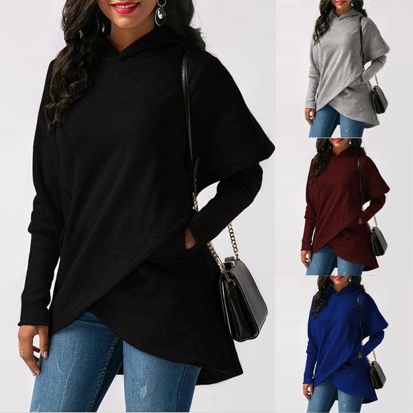Women, fashion women, Casual Hoodie, Sleeve