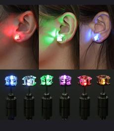 DIAMOND, led, Jewellery, Stud Earring