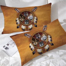 case, bedroompillowcover, Dreamcatcher, Home & Living