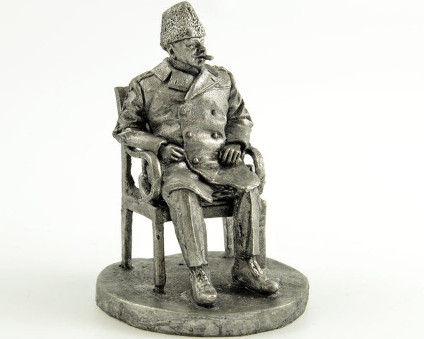 metalsculpture, churchill, miniaturefigure, Sculpture