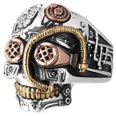ringsformen, Goth, Jewelry, skull