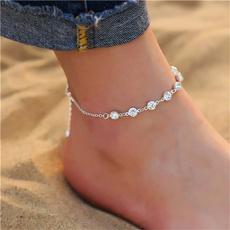 beachankletchain, Fashion, summeranklet, Jewelry