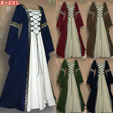 sleeve dress, Medieval, renaissance, long dress