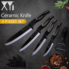 blackkitchenknifeset, ceramicknife, Kitchen & Home, Blade