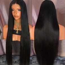 wig, Black wig, straightwig, Fashion