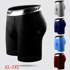 Underwear, silk, boxer briefs, compression