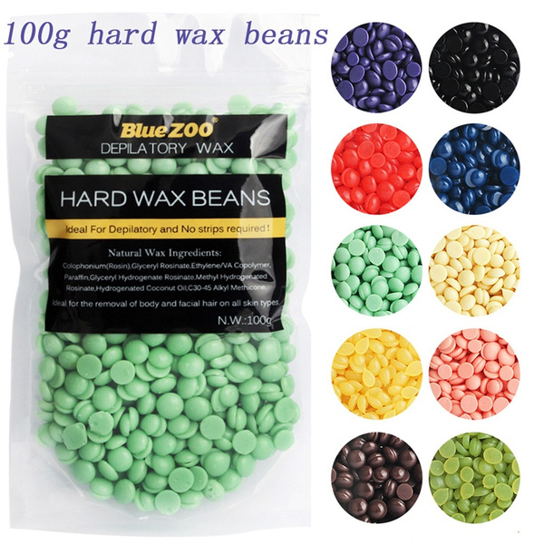 100g Wax Beans Depilatory Hot Film Hard Wax Pellet Painless Hair Removal Wish