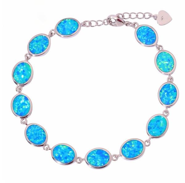 charmsforbracelet, Beautiful, Fashion, opalsbracelet