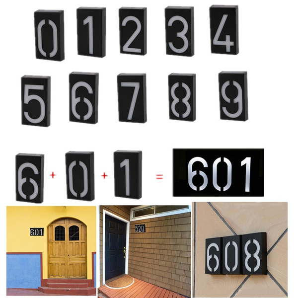 numberplatelamp, doornumber, ledwalllamp, Hotel
