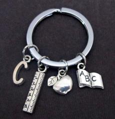 favoriteteacher, Key Charms, Key Chain, teacher