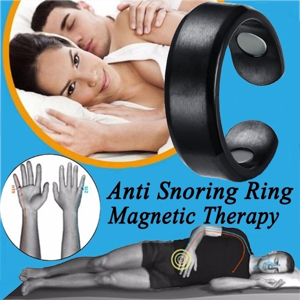 Jewelry, antisnoring, magnetictherapy, Health Care