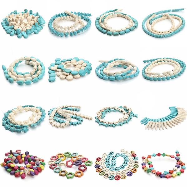Necklace, Ivory, diybracelet, turquoisebead