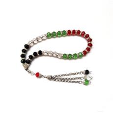 Muslim, Jewelry, tasbih, palestinecolor