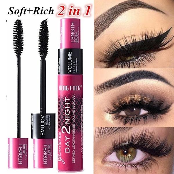 Makeup Tools, Fiber, waterproofmascara, blackmascara