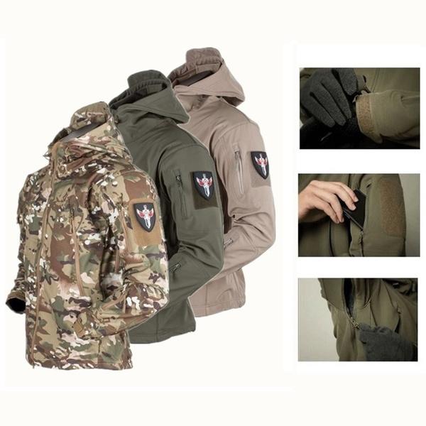 Army, Shark, Fashion, Coat