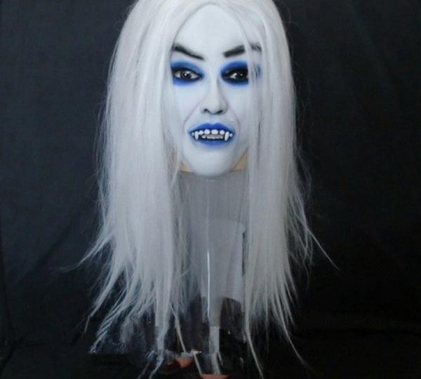 Blues, scary, Fashion, Halloween
