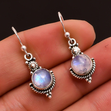 Sterling, rainbow, Fashion, Dangle Earring