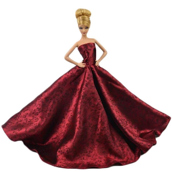 gowns, Chinese, doll, Dress