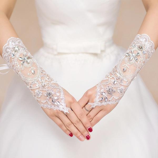 Lace, Fashion Accessory, wristlacebridalglove, diamondweddingglove
