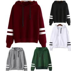 blouse, hooded, Sleeve, Women Blouse