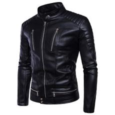winter fashion, puleatherjacket, Plus Size, Winter