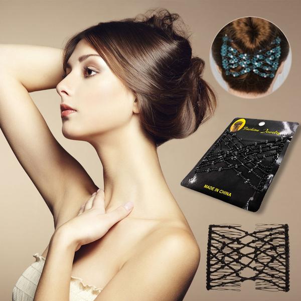 haircomb, Magic, Beaded, Metal