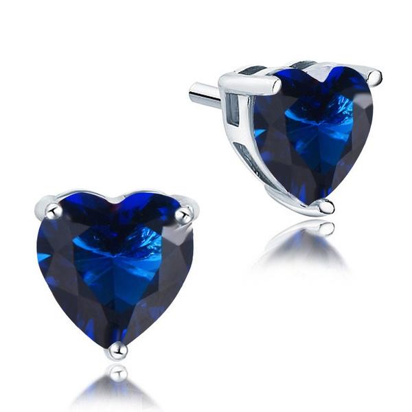 Blues, Heart, Jewelry, Blue Sapphire