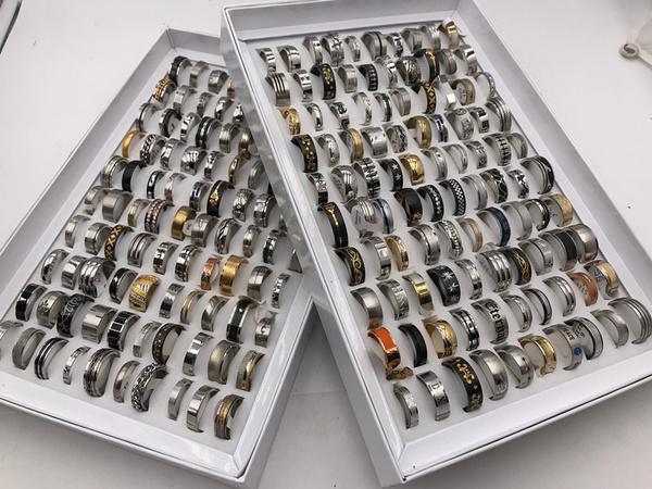 Steel, Men, Jewelry, Gifts