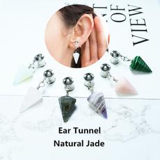 fleshtunnel, Jewelry, earexpander, jade