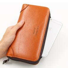 doublezipperwallet, case, Capacity, Waterproof  wallet