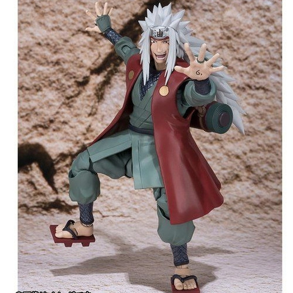 Anime SHF S.H.Figuarts Naruto Shippuden Jiraiya PVC Action Figure New In Box