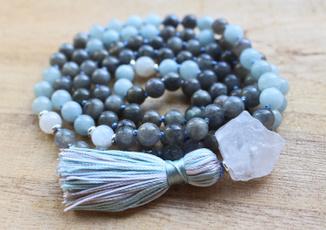 Tassels, Yoga, Jewelry, yoganecklace