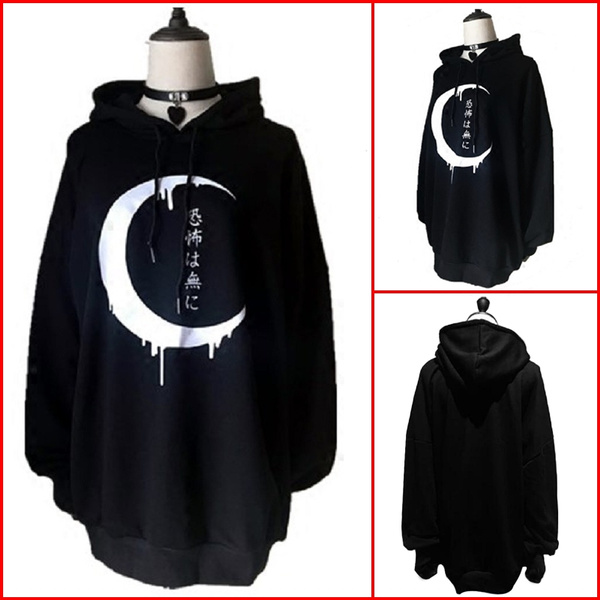 Goth, Fashion, pullover hoodie, Long Sleeve