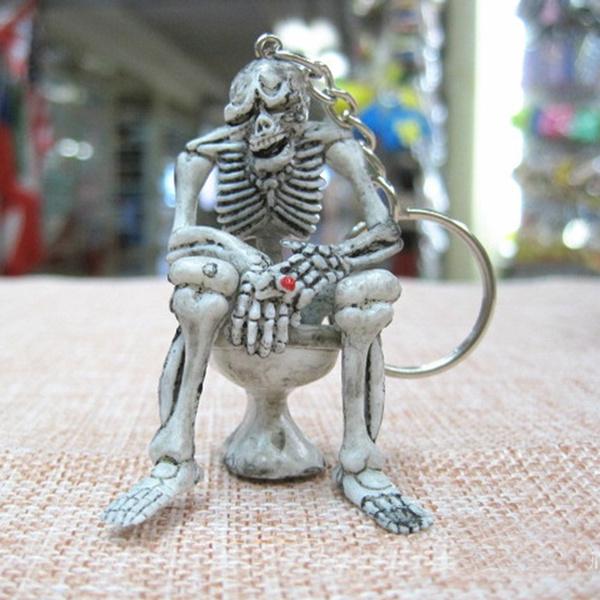 skeletonkeyring, Key Chain, Skeleton, Gifts