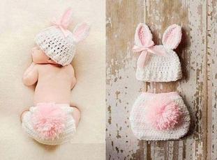Fashion, rabbit, Photography, crochet