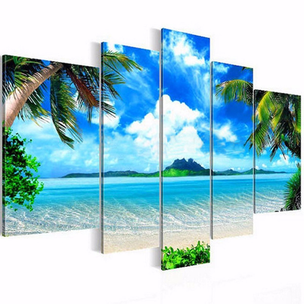 canvas paintig, unframed, Home & Living, painting