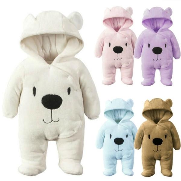 Fashion, kids clothes, Winter, newbornjumpsuit