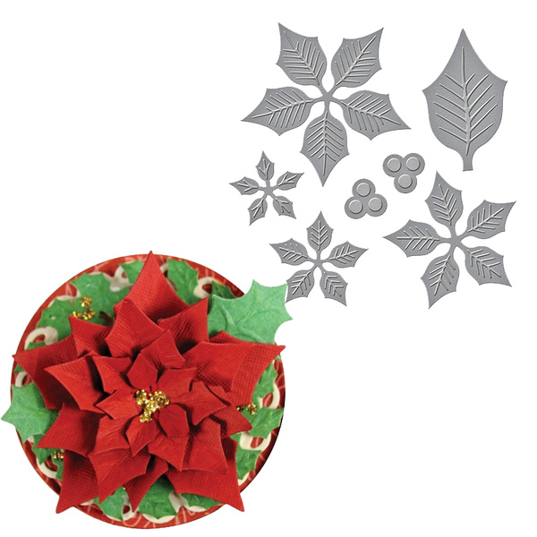 Flowers, Stamps, cuttingdie, Craft