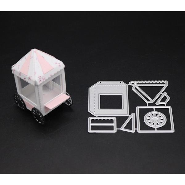 Paper, house, cuttingdie, scrapbookingspapercraft