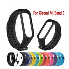xiaomimi3strap, watchbandforxiaomimiband3, xiaomimiband3, Silicone