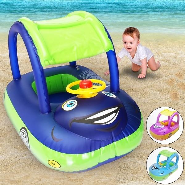 Summer, babyswimmingfloat, babyswimfloatboat, Inflatable