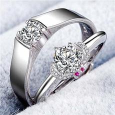 Couple Rings, wedding ring, crownring, Diamond Ring