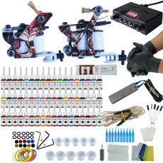 tattoo, tattookit, Tattoo Supplies, gunmachineset