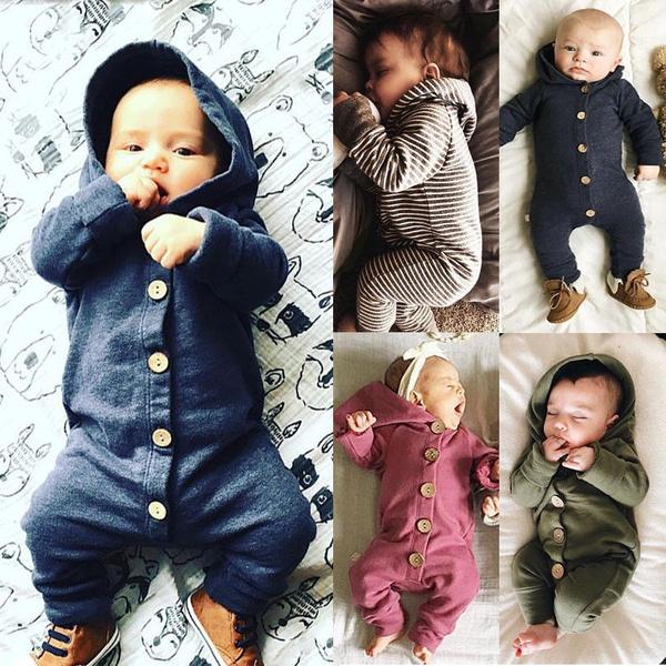 kids, babywinterjumpsuit, hooded, babyromper