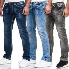 men's jeans, Fashion, straightjean, high waist