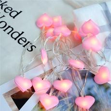 Heart, Decor, led, Romantic