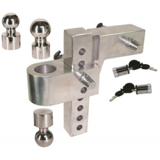 uriahtrailerhitch, universaltrailerhitch, multiballmounthitch, Aluminum