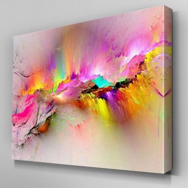 pink, artworking, art, Home Decor